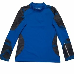 UNDER ARMOUR Fitted ColdGear Long Sleeve S…